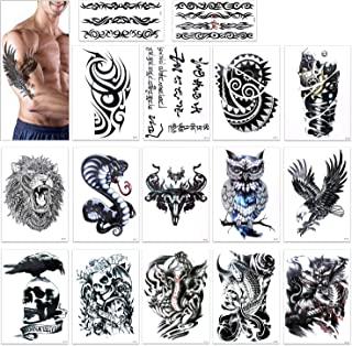 Best fake tattoo sleeves for black guys Reviews