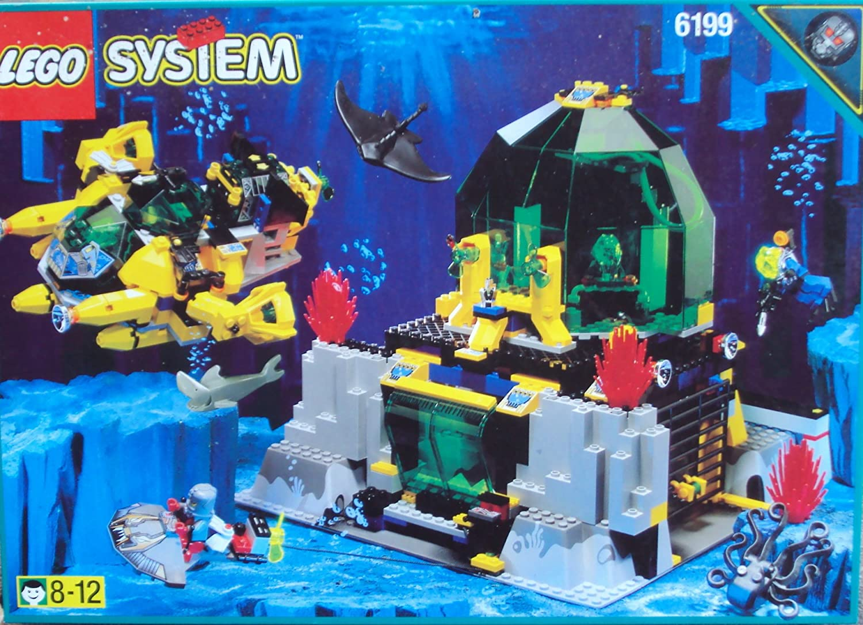 LEGO System Aquanauts 6199 Aqua-Dome