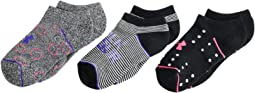 Phenom No Show Socks 3-Pair (Big Kid)