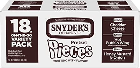 Snyder's of Hanover Pretzel Pieces Variety Pack, 2.25 Ounce, 18 Count
