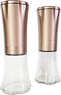 Wolfgang Puck Electric Gravity Spice Mill Set - Champagne