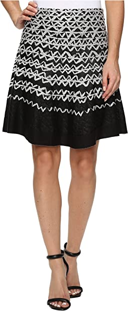 Geo Chic Twirl Skirt
