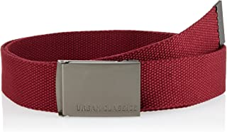 Urban Classics - CANVAS fabric belt, adjustable up to 120cm - One Size
