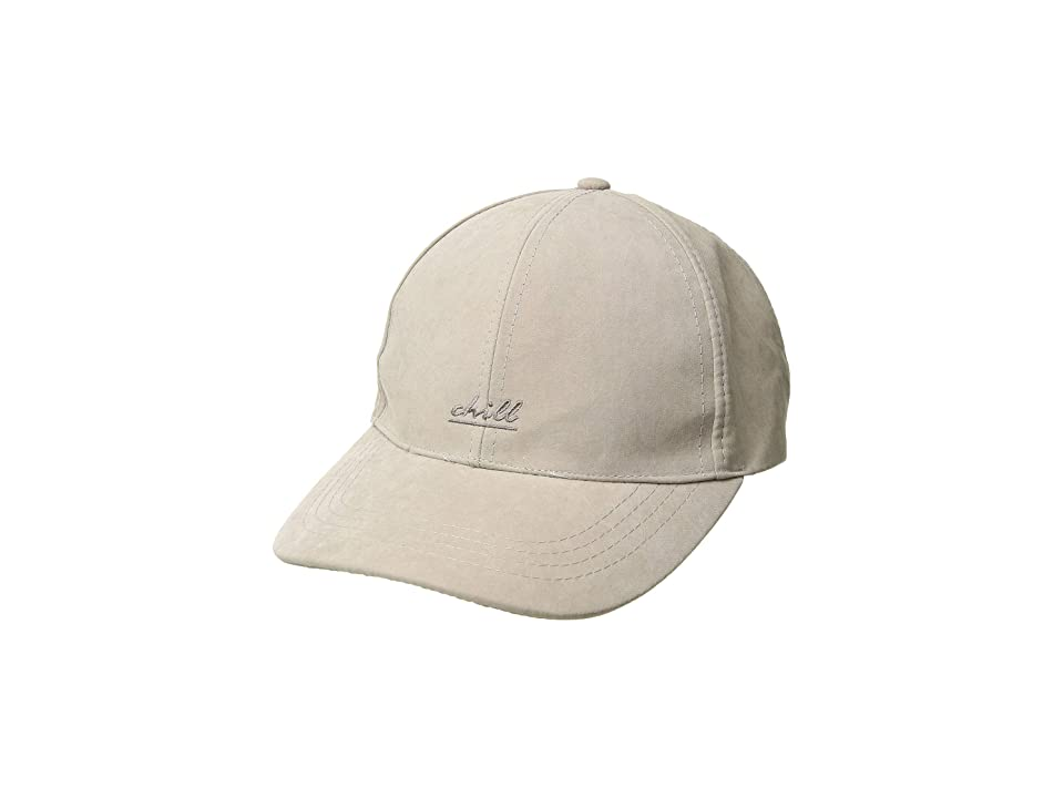 Collection XIIX Weekender Embroidered Baseball (Light Grey) Caps, Gray