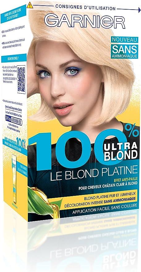 Garnier - Tinte, 100 % ultrarrubio, sin amoniaco: Amazon.es ...