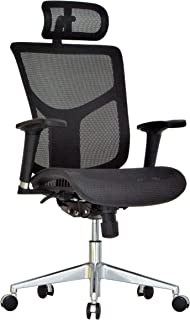 metrex ii black mesh task chair