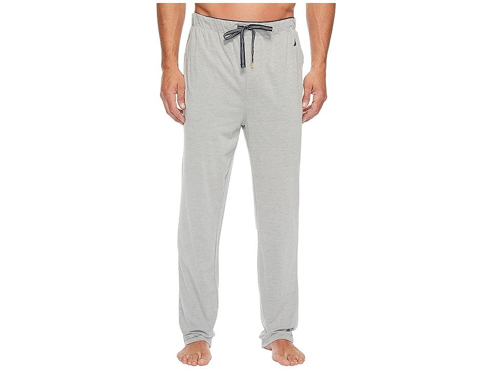 Nautica Knit Sleep Pants (Grey Heather) Men