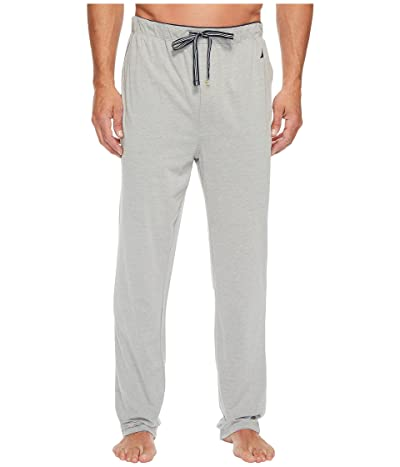 Nautica Knit Sleep Pants (Grey Heather) Men