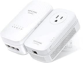 TP-LINK AC1750 Wi-Fi Range Extender, AV1200 Powerline Edition (TL-WPA8730 KIT)
