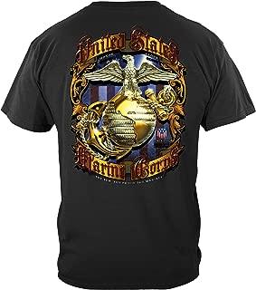 Marine Corps T-Shirt USMC Pride Honor Tradition Marine Corps T-Shirt MM2270