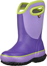 BOGS Unisex Slushie Snow Boot, Solid Purple/Multi, 1 Medium US Little Kid