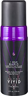 Norvell Ultra Vivid Color Collection 1 Hour Rapid Hi-Res Self-Tan Mousse with Color Bronzers - Instant Natural Looking Bronzing Glow, 4 fl.oz.