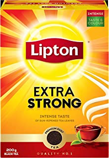 Lipton Extra Strong Black Tea , 200g