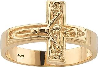 Best mens cross rings gold Reviews
