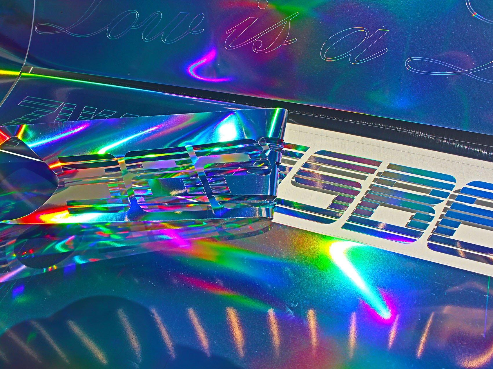Finest Plóter de Folia Clear Back Pantalla oilslick (13,13 €/m²) Holograma Plata Glitter Efecto Pantalla Pantalla para Plotter: Amazon.es: Juguetes y juegos