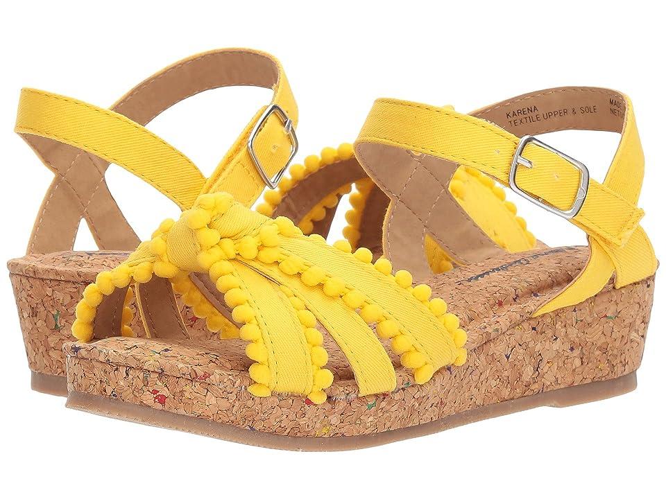 Hanna Andersson Karena (Toddler/Little Kid/Big Kid) (Swedish Yellow) Girls Shoes