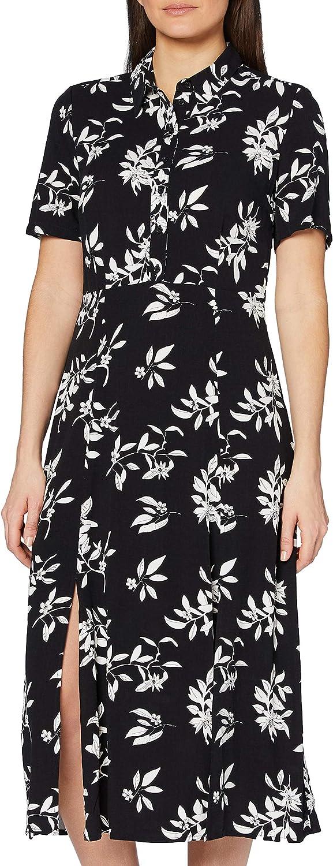 find. Women's Midi Shirt Dress with Slit