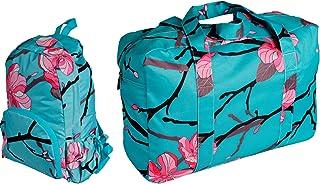 Back Pack & Traveller Duffle Bag Set - Apple Blossom