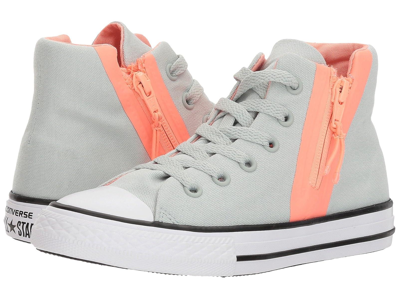 Converse Kids Chuck Taylor All Star Sport Zip Hi (Little Kid/Big Kid)Atmospheric grades have affordable shoes