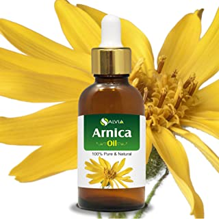 Salvia Arnica Essential Oil (100% Pure, Undiluted and Organic) - Natural, Premium Aromatherapy Massage Oil ...