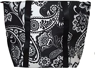 Cooler Tote - Midnight Paisley