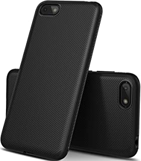 KuGi Huawei Honor 9i Case, Scratch Resistant Soft TPU Case Cover for Huawei Honor 9i, Black