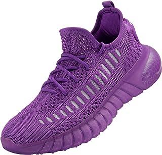 Men's Breathable Fashion Sneaker Damping Running Walking Shoes