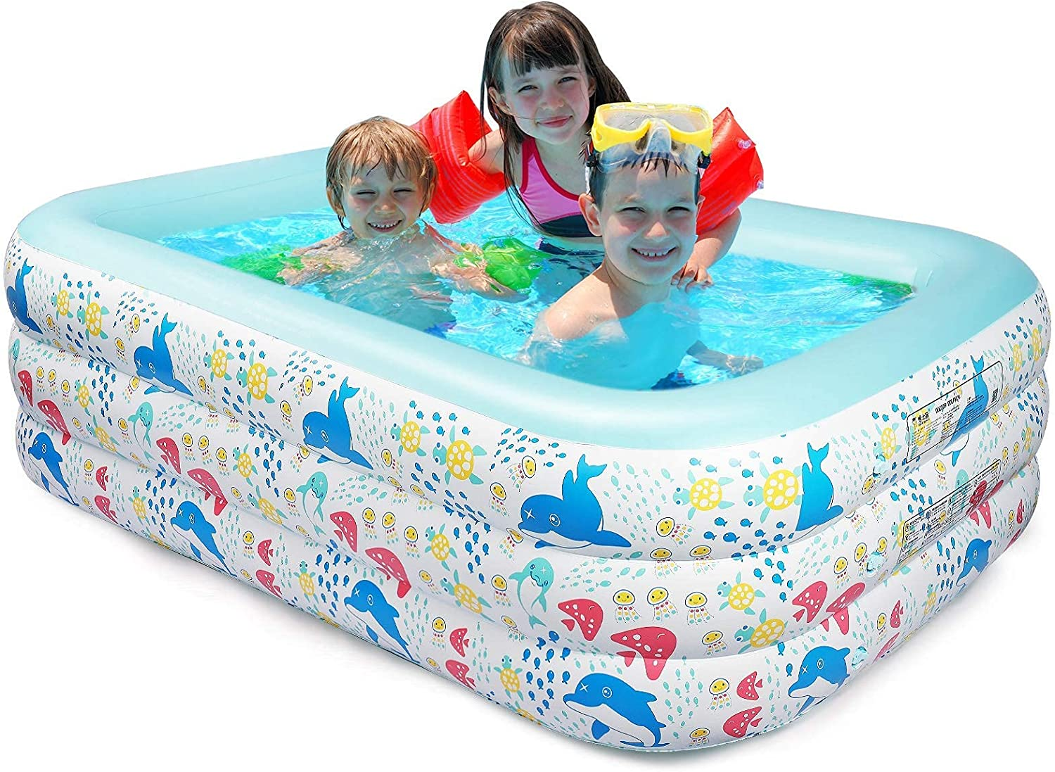 Inflatable Swimming Pool for Kids x 82
