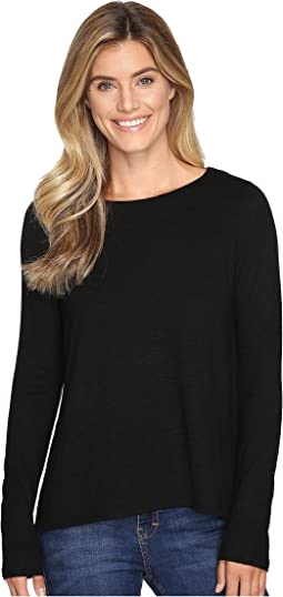 Lilla P - Long Sleeve Pleat Back