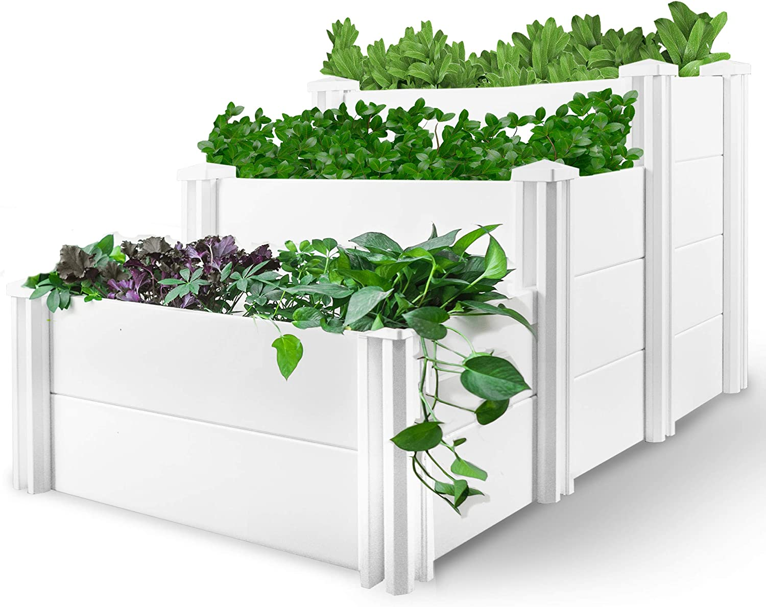 HEGEMONE Co. Tiered Raised Elevated Garden New arrival For Cheap SALE Start Box Bed Planter