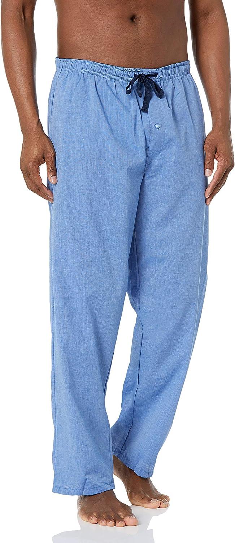 Hanes Men's Big and Tall Big & Tall Woven Plaid Sleep Pant