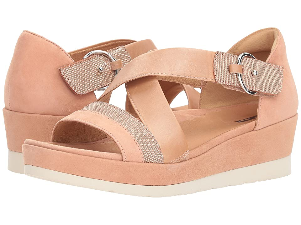 Earth Hibiscus (Peach Silky Suede) Women