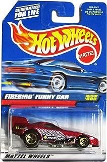 Mattel Hot Wheels 1999 1:64 Scale Maroon Firebird Funny Car Die Cast Car Collector #998