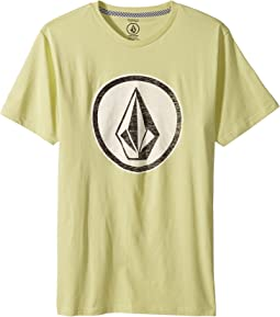 Volcom Kids - Classic Stone Short Sleeve Tee (Big Kids)