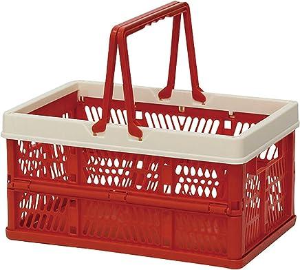 折叠 堆叠 容器盒 红色 Small 400729801