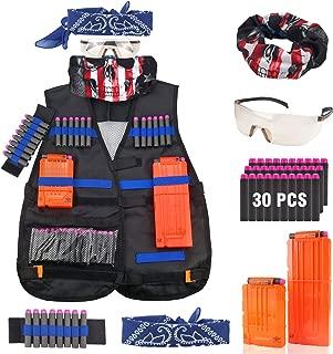 Tactical Vest Jacket Kit for Nerf Guns N-Strike Elite Battle
