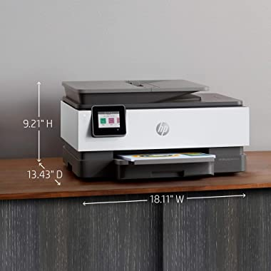 HP OfficeJet Pro 8025e Wireless Color All-in-One Printer with bonus 6 free months Instant Ink with HP+ (1K7K3A)