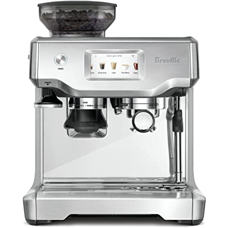 Breville BES880BSS Barista Touch Espresso Machine, Brushed Stainless Steel