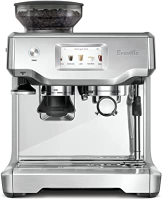 Breville Maker Barista Touch Espresso Machine, Stainless Steel, 12.7 x 15.5 x 16 inches