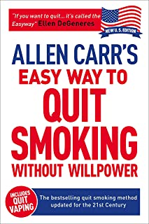 Allen Carr's Easy Way to Quit Smoking Without Willpower - Incudes Quit Vaping: The Best-Selling Quit Smoking Method Update...