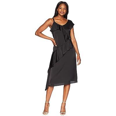 NIC+ZOE New Romantics Dress (Black Onyx) Women