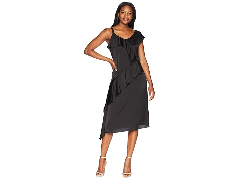 NIC+ZOE New Romantics Dress (Black Onyx) Women