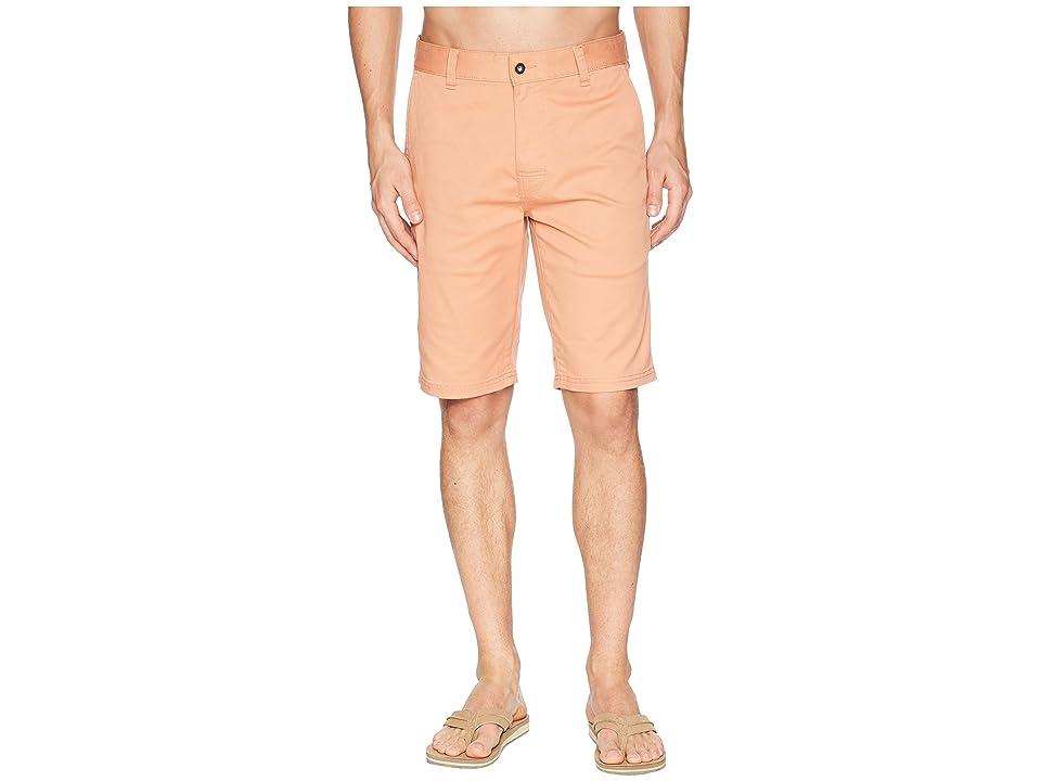 Prana Table Rock Chino Shorts (Sunset Pink) Men