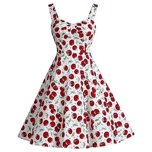 robe avec des cerises