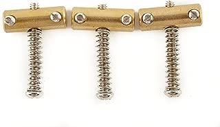Fender American Vintage Telecaster Compensated Bridge Saddles, Brass