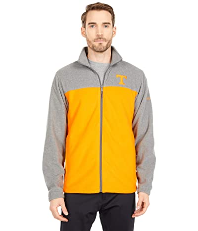Columbia College Tennesee Volunteers Flankertm III Fleece Jacket (Charcoal/Solarize) Men
