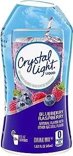 Crystal Light Blueberry Raspberry Liquid Drink Mix (1.62 oz Bottles, Pack of 12)