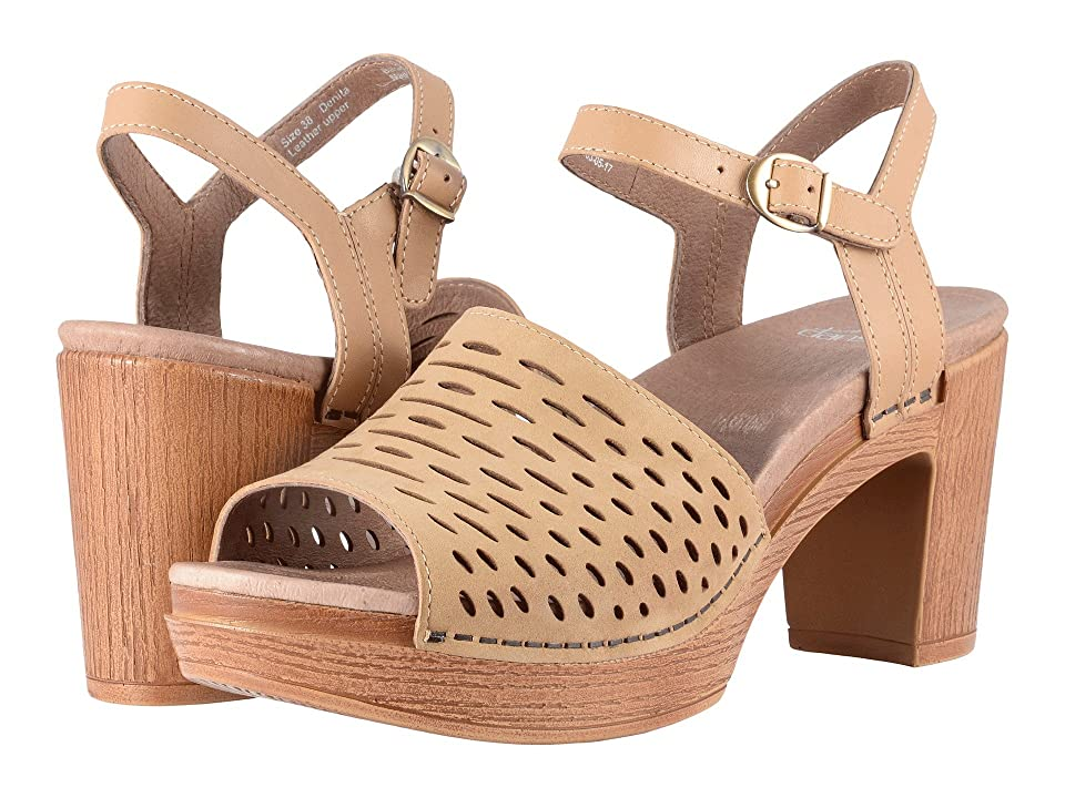 Dansko Denita (Sand Milled Nubuck) High Heels
