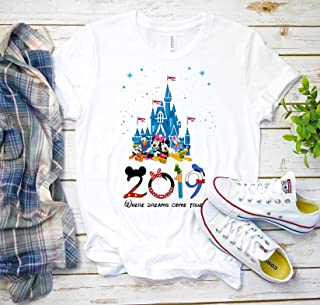 2019 Disney family shirts, Disney shirts, Disney Mickey and Minnie, family disney shirts Disney matching shirts, Custom Disney Shirts