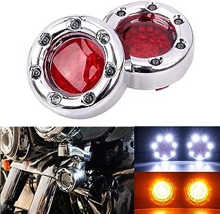 Custom Dynamics ProBEAM Squareback LED Taillight w//Window Red PB-TL-SBW-R